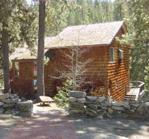 The Cabin In Strawberry Is Located On The South Fork Of The Stanislaus River  32 Miles East Of Sonora, CA On Highway 108 At An Elevation Of 5250 Feet.